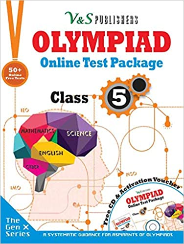 OLYMPIAD ONLINE TEST PACKAGE CLASS 5 (FREE CD WITH ACTIVATION VOUCHER)