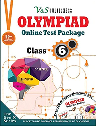 OLYMPIAD ONLINE TEST PACKAGE CLASS 6 (FREE CD WITH ACTIVATION VOUCHER)