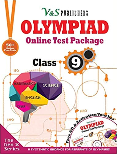 Olympiad Online Test Package Class 9 (Free CD With Activation Voucher)