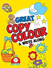 Colouring book for kids : Great Copy Colour and Write Along Book