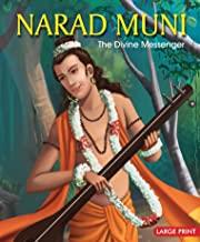 Large Print: Narad Muni The Divine Messenger-Indian Mythology