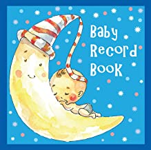 Record Book: Baby Record Books for Boys (Blue)