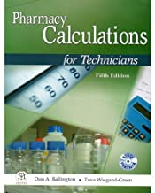 PHARMACY CALCULATIONS FOR TECNICIANS