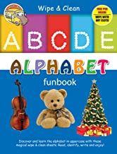 Wipe & Clean ALPHABET Funbook: Write and Practice Capital Letters