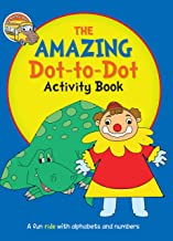Activity Book: The Super Fun Dot-to-Dot Activity Book for Children (A-Z, a-z, 1-10, 1-20)