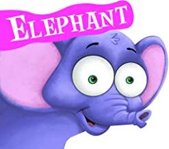 Cutout Board Book: Elephant( Animals and Birds)