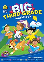 Big Third Grade Workbook Ages 8-9, 3rd Grade, Reading, Writing, Maths, Science, History, Social Science, Critical Thinking and More
