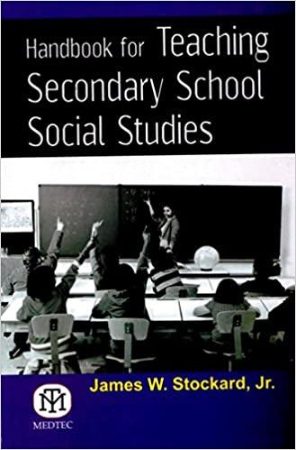 Handbook for Teaching Secondary School Studies