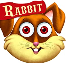 Cutout Board Book: Rabbit( Animals and Birds)