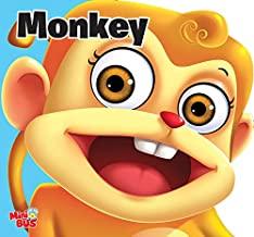 Cutout Board Book: Monkey( Animals and Birds)