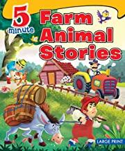 Large Print: 5 Minute Farm Animals