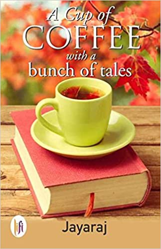 A cup of coffee with a bunch of tales