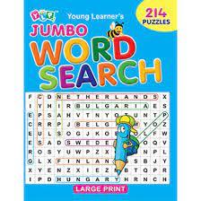 JUMBO WORD SEARCH