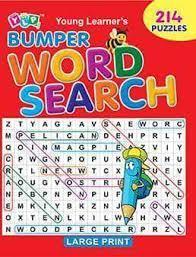 BUMPER WORD SEARCH