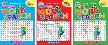 SET OF 3 WORD SEARCH BOOKS