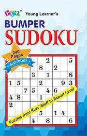 BUMPER SUDOKU - BLUE BOOK