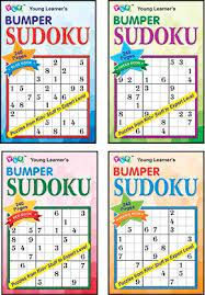 BUMPER SUDOKU(SET OF 4 BOOKS)