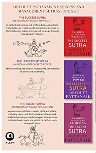 DEVDUTT PATTANAIK'S BUSINESS AND MANAGEMENT SUTRAS: THE SUCCESS SUTRA, THE LEADERSHIP SUTRA, THE TALENT SUTRA