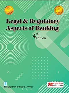LEGAL & REGULATORY ASPECT OF BANKING 2021 - 4TH EDITION