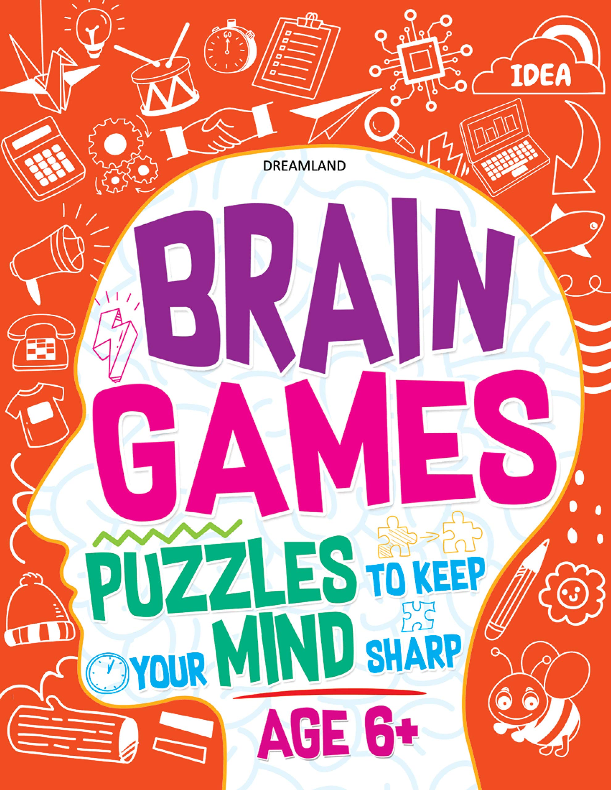 Brain Games (Puzzles to keep your Mind sharp Age 6+)
