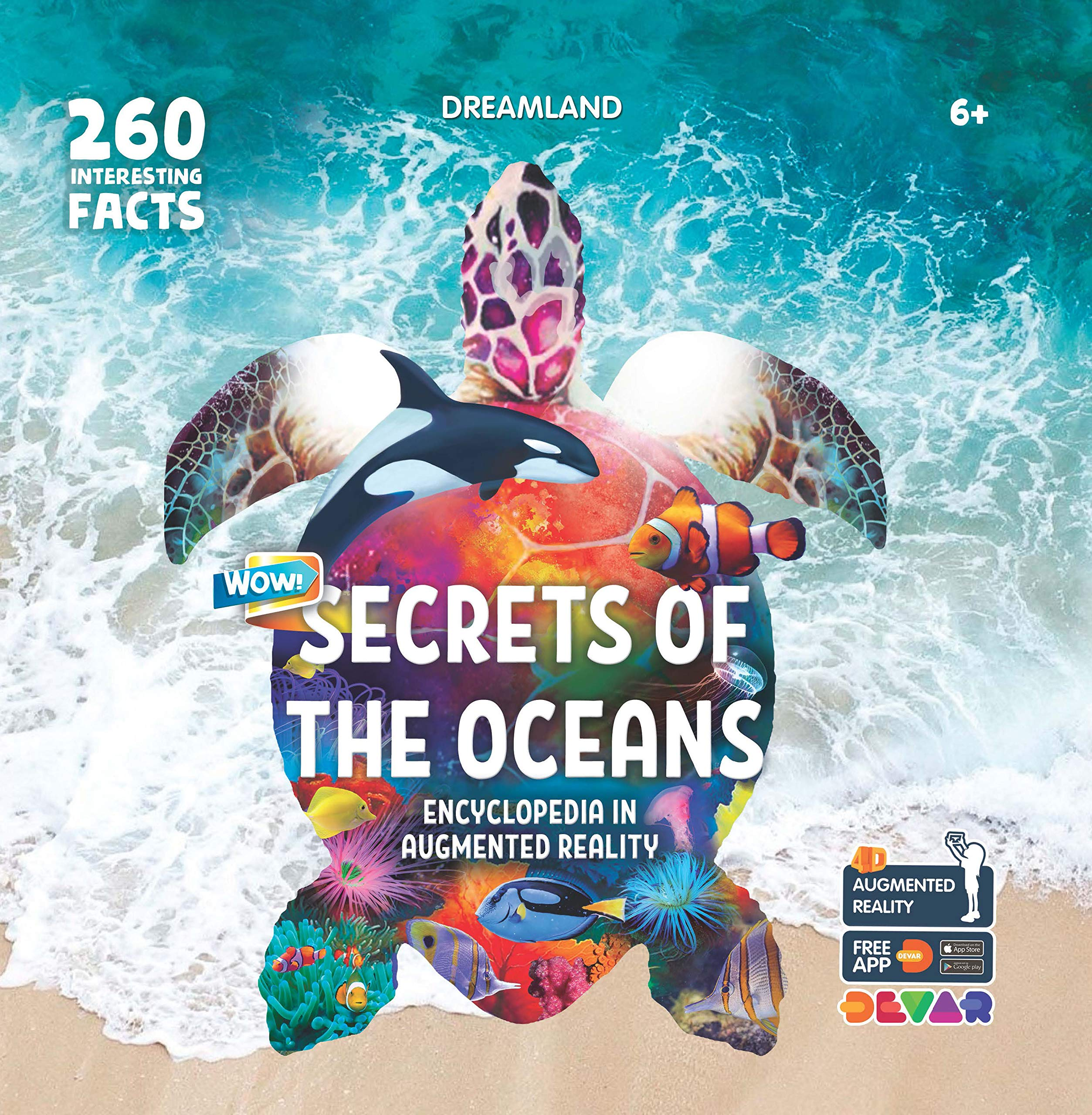Secrets of the Oceans- Wow Encyclopedia in Augmented Reality
