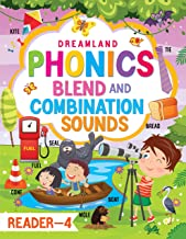 PHONICS READER BOOK 4 FOR CHILDREN AGE 3 -10 YEARS - BLENDS AND COMBINATION SOUNDS