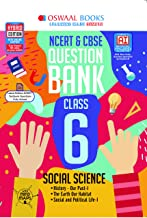 Oswaal NCERT & CBSE Question Bank Class 6 Social Science Book (For 2021 Exam)