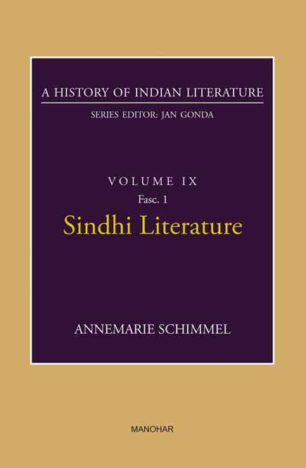 Sindhi Literature (A History of Indian Literature, volume 9, Fasc. 1)