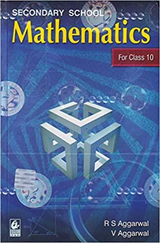 SECONDARY SCHOOL MATHEMATICS FOR CLASS 10 (EXAMINATION 2020-2021)