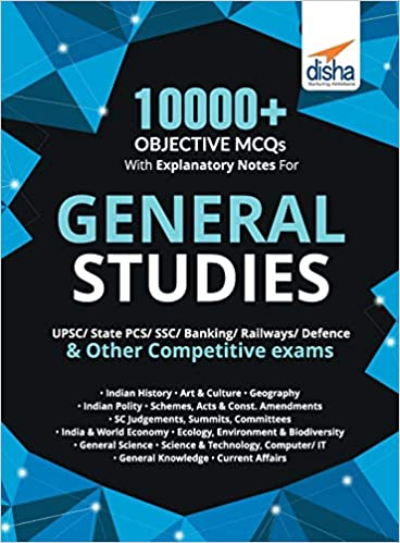 10000+ OBJECTIVE MCQS WITH EXPLANATORY NOTES FOR GENERAL STUDIES UPSC/