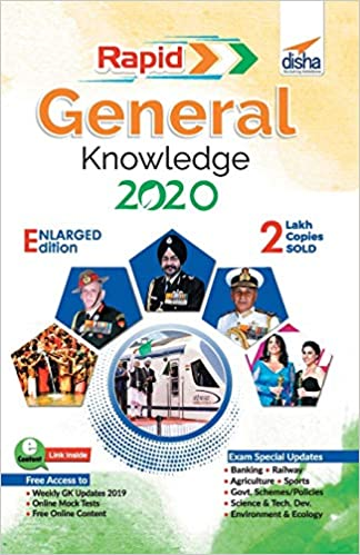 RAPID GENERAL KNOWLEDGE 2020 FOR COMPETITIVE EXAMS