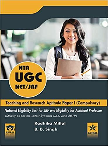 NTA UGC NET/JRF Teaching and Research Aptitude Paper I (Compulsory)