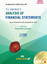 T.S. GREWAL'S ANALYSIS OF FINANCIAL STATEMENTS + T.S. GREWAL'S DOUBLE ENTRY BOOK KEEPING -2020 EDITION