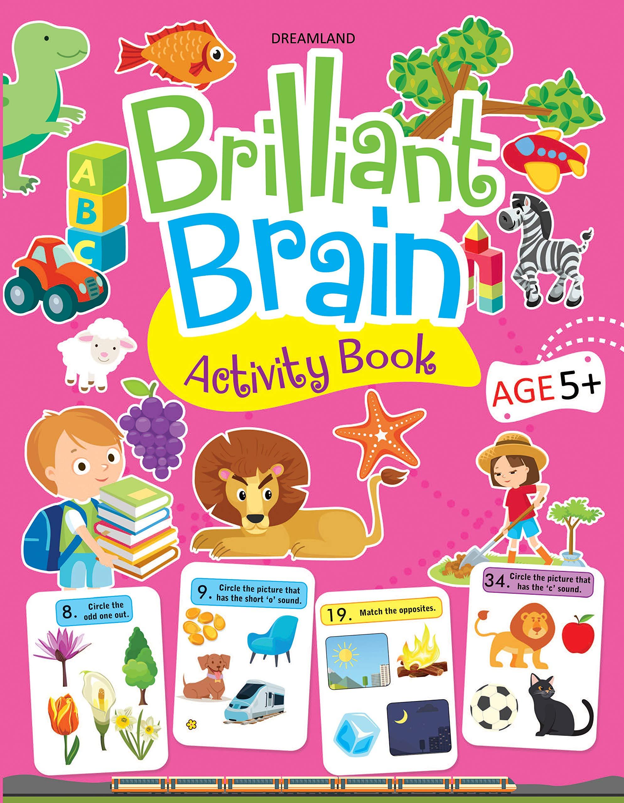Brilliant Brain Activity Book (Age 5+)