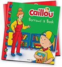 CAILLOU-BORROWS A BOOK