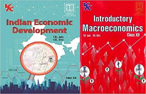 INTRODUCTORY MACROECONOMICS AND INDIAN ECONOMIC DEVELOPMENT CLASS 12 CBSE (SET OF 2 BOOKS) (2021-22 SESSION)