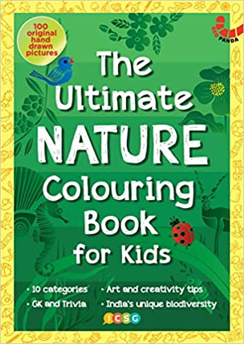 THE ULTIMATE NATURE COLOURING BOOK FOR KIDS