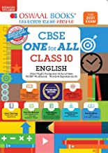 Oswaal CBSE One for All, English Lang. & Lit., Class 10 (Reduced Syllabus) (For 2021 Exam)