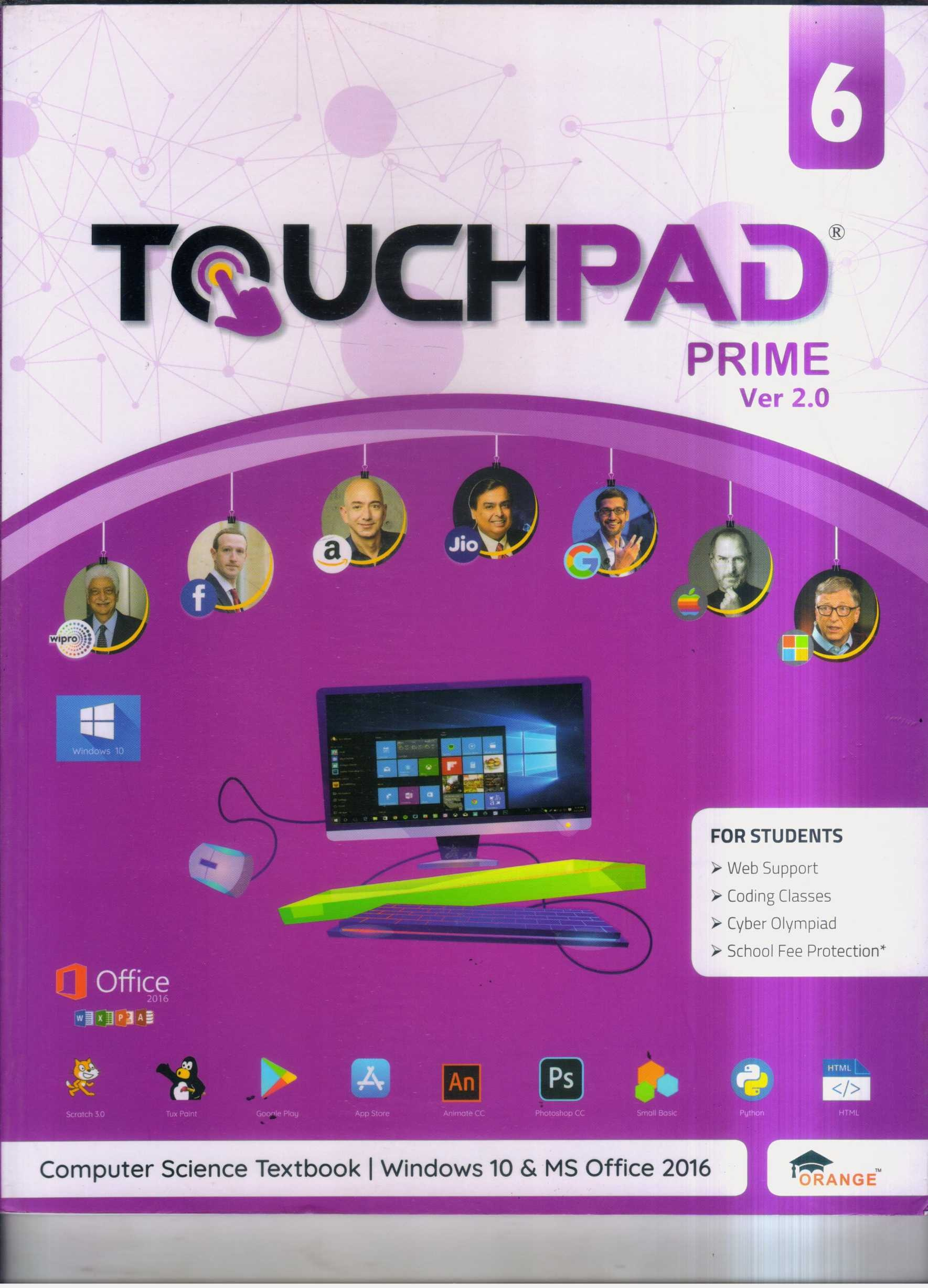 TOUCHPAD PRIME VER 2.0 CLASS 6