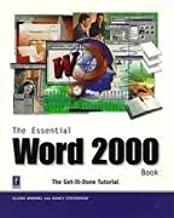 Essential Word 2000 Book