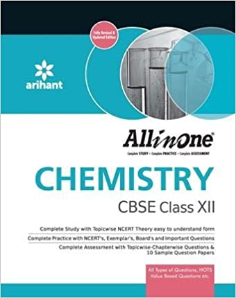 ARIHANT ALL IN ONE CHEMISTRY CBSE CLASS - XII, (FOR 2017 EXAM)